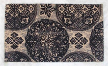 wholesale low price printed jute rugs manufacturer