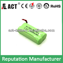 rechargeable nimh battery pack aa 800mah ni-mh 2.4v cordless phone battery