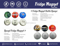 Fridge Magnet with Bottle Opener