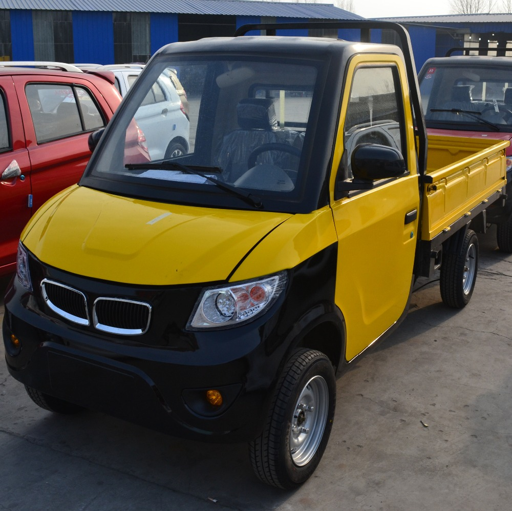 New Design Electric Mini Truck Electric Solar Car for Cargo
