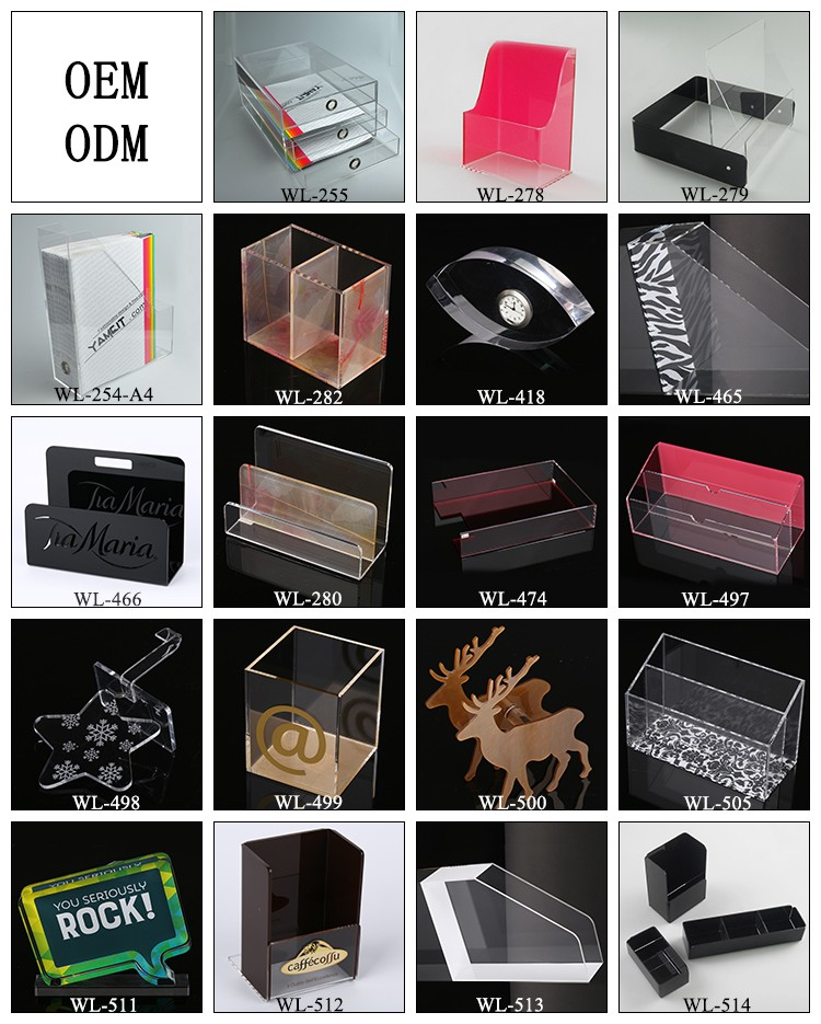 New Style OEM Clear Acrylic Prize Award Trophy Awards