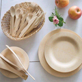 ancheng factory hot sale cheap price bamboo wooden disposable plate