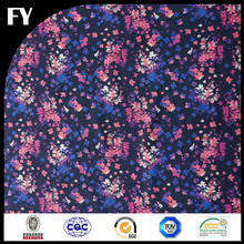 Custom digital printed silk gauze fabric