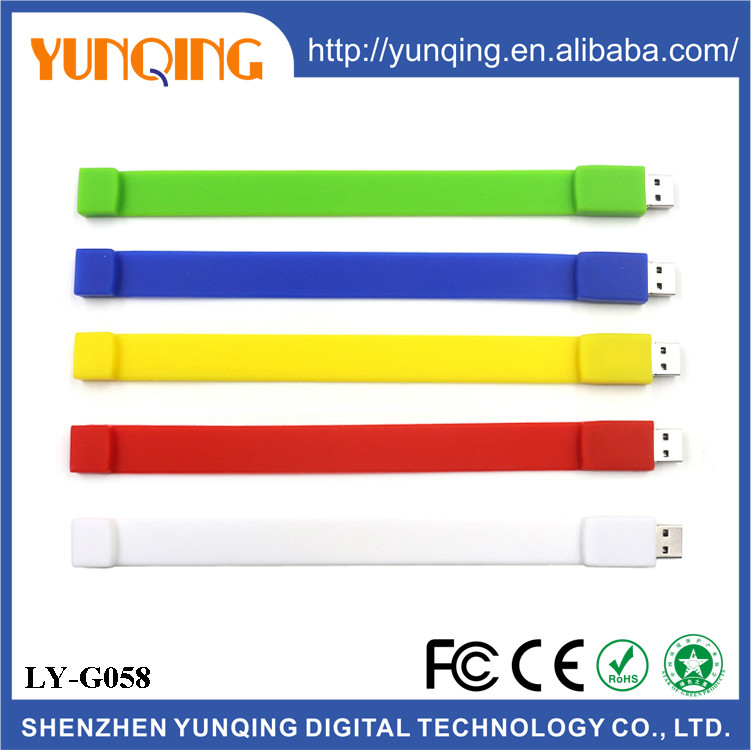 Free sample 8Gb Usb Memory Stick China Bracelet Usb Wristband Usb Flash Memory Stick