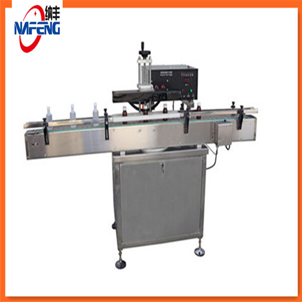 Automatic Aluminium foil sealing machine and cap sealers glass wine bottle