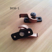 Anodized Moon shape lock for sliding window