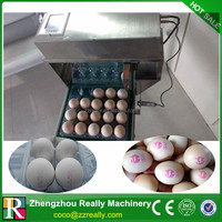 Easy operation egg jet printer with best service
