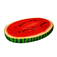 watermellon fruit form pet bed