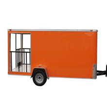 Fast Food Mobile Kitchen Trailer for Sale