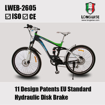 "26""Electric Patent mountain bike 2 years warranty"