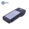 handheld smart android pos terminal with barcode scanner nfc reader build in thermal printer Z90 PCI PTS5.x certified