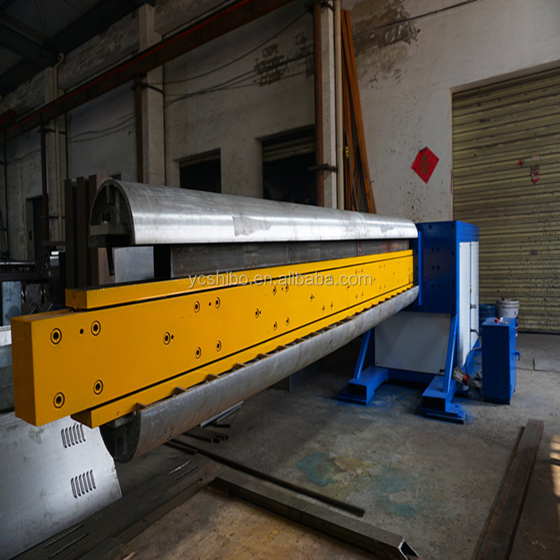 flat oval duct machine