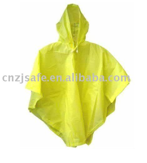 Kids fluorescent pvc poncho for sale