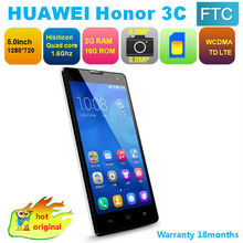 "2gb ram 5.0"" HUAWEI Honor 3C Dual SIM Card mobile phones"