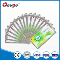 new products on china market non peroxide teeth whitening strips CE approval for home use