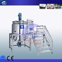 Commercial Hand Wash Liquid Soap Making Machine With Heating System Homogenized Shampoo Mixing Tank made in China