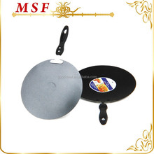 MSF kitchenware and cookware aluminum Indian tawa pan with non-stick coating MSF-6205