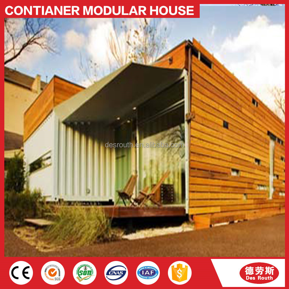 Prefab shipping container housing building modular apartment unit for sale