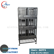 Wire macaw bird cages solar parrot cage