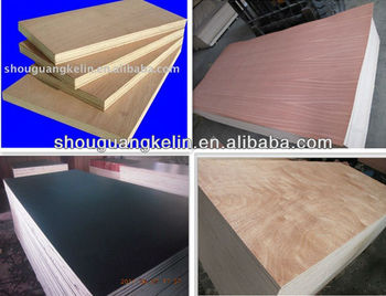 Okoume bintangor keruing pencil ceder veneer faced for Furniture grade plywood