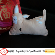 2016 latest design factory direct selling cute deer shape felt pillows from china supplier