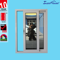 Australian standard as2047 upvc windows/pvc sliding window for sale