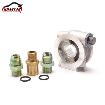 Racing Car Oil Filter Sandwich Plate Adapter ,Oil Cooler Adaptor