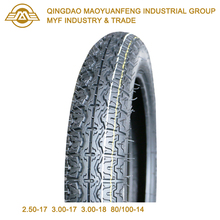 80/100-14 E4 Certificate 50cc 100cc 125cc Street Pattern Scooter Motorcycle Tyre