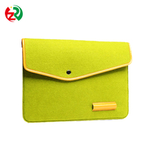 OEM high quality portable felt netbook sleeve with low price