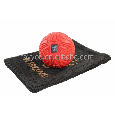 8CM Muscle Max Massage Ball - Deep Tissue Massager For Trigger Point Myofascial Release & Self Massage Comes With Travel Bag