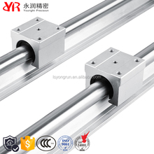 High quality steel retainer linear slide bearing open linear motion bearing rail