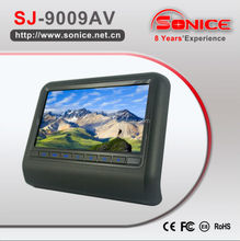 SONICE 2015 Hot Sale 9 inch headrest led monitor