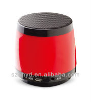 2013 mini speaker crystal led mini speaker/mini radio speaker
