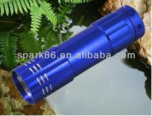 9led light up flashlight torch