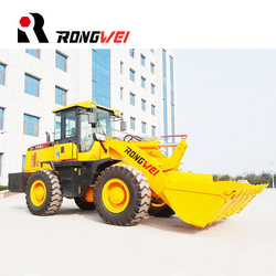 Payloader Machine Front Small Tractor Front End Loader wheel loader ZL30 with Weichai Deutz Engine for Sale