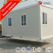 Foldable container dwell homes