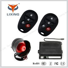One way car immobilizer products remote car alarm shock sensor with Super long distance control