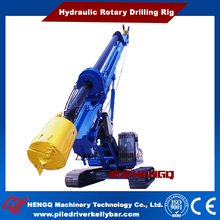 HENGQ HQR 280D Type Construction Rotary Piling Rig for Sale