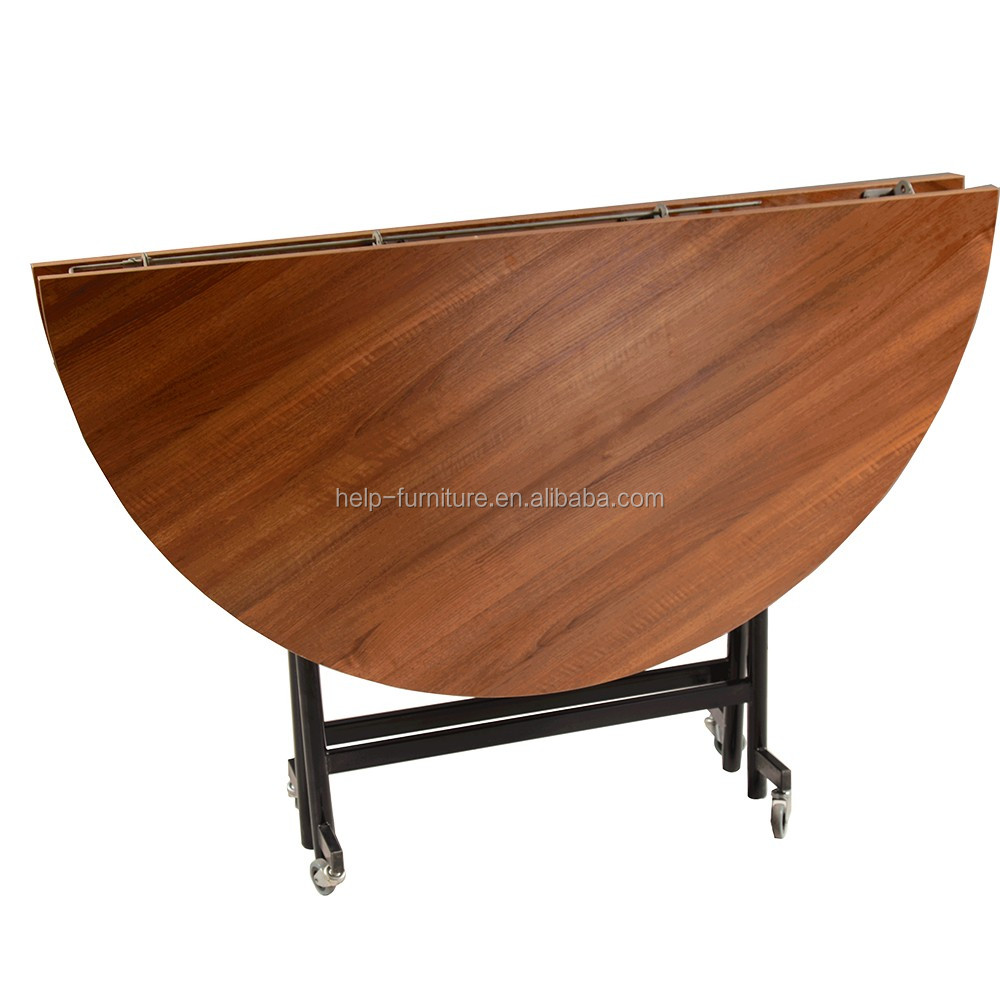 Wholesale round hand carved dining table with top quality