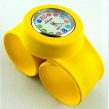 2013 stylish children silicone slap watch Digital watches