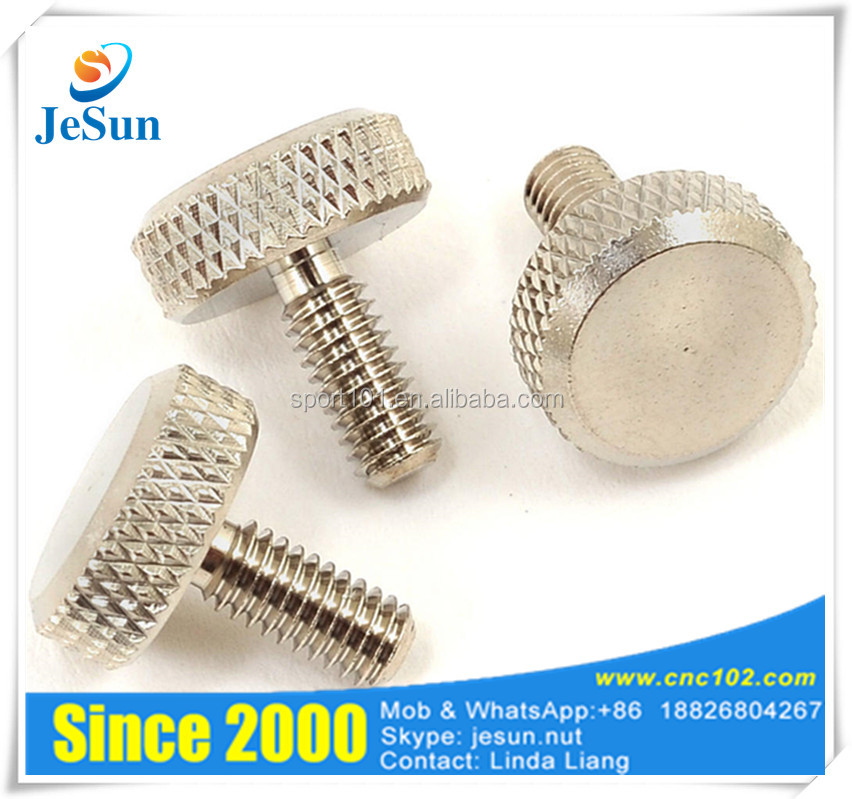 China Supplier Flat Head Thumb Screws M3-M10