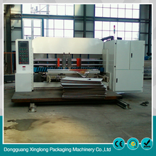 China manufacturer single face corrugated 3color machine to make cardboard boxes