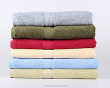 100%cotton Room Essentials Fast Dry yellow Bath Towels bt-040