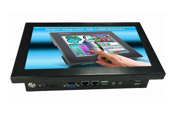 2LAN Port Dual-Core Cpu Mini Pc Dual Nic 10inch Industrial Touch Panel Pc