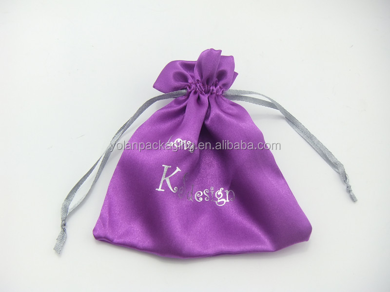 Lace Custom Logo Jewelry Bags, Cheap Drawstring Bags