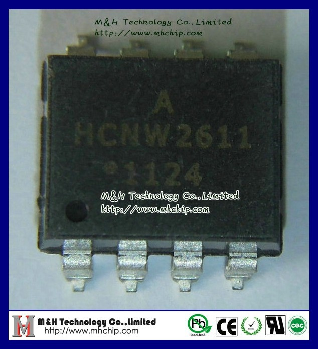 50 pieces High Speed Optocouplers 10MBd 1Ch 5mA