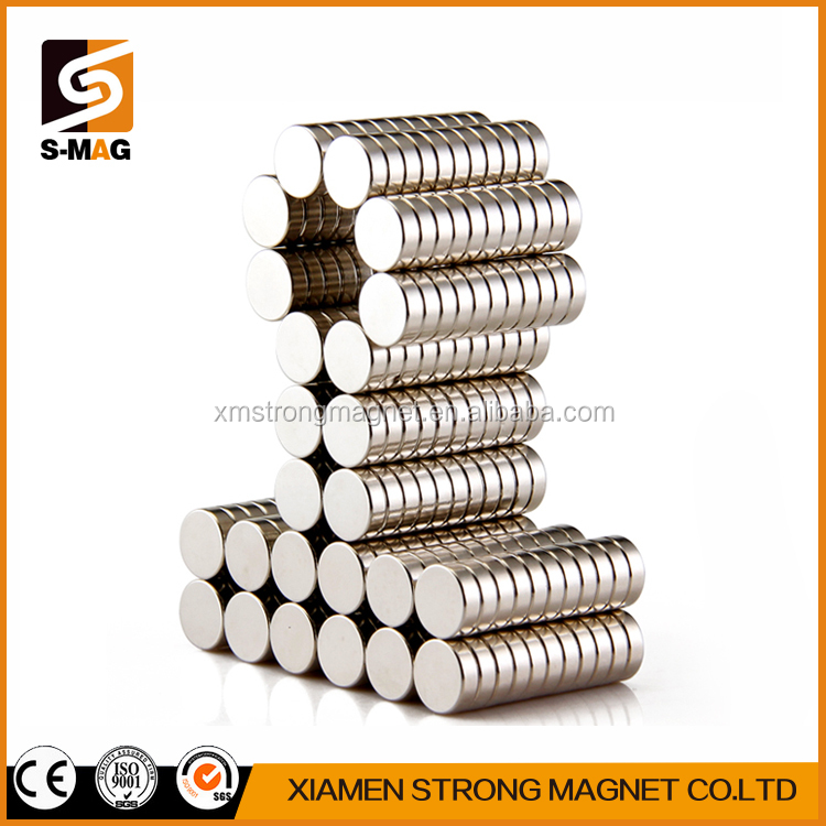 N50 mini Rare Earth Strong Neodymium Magnet Bulk Super round disc magnets for sale
