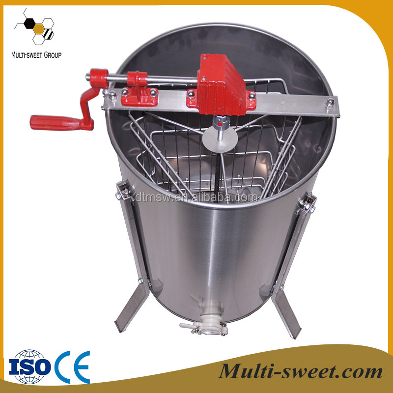 Multi-sweet beekeeping equipment, manual & electric 2/3/4/6/8/12/20/24 frames honey extractor for bee product