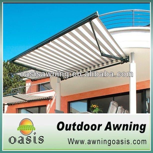 2013 New Luxury Aluminum Full Cassette fold arm awning