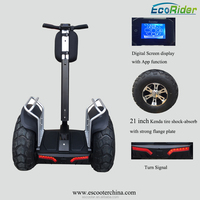 21 inch Big tire 4000W 1266Wh 72V Double battery self balancing electric scooter 2 wheel scooter electric chariot